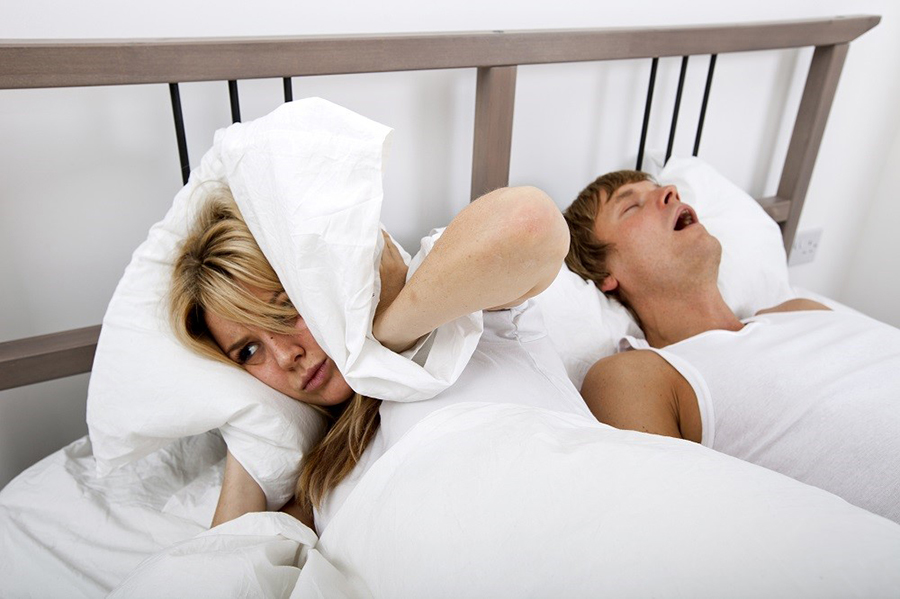 Snoring Can Give Your Partner High Blood Pressure